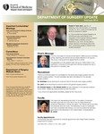 Department of Surgery Update, February 2014