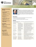 Department of Surgery Update, April 2014