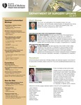 Department of Surgery Update, July 2014