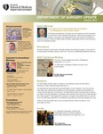 Department of Surgery Update, October 2014