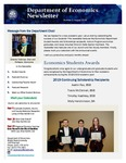 Economics Newsletter - August 2019 by Raj Soin College of Business, Wright State University