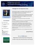 Economics Newsletter - April 2020 by Raj Soin College of Business, Wright State University