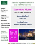 Economics Alumni from the City of Hamilton, Ohio by Aaron Hufford and Jordan Schotz