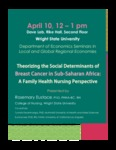 Theorizing the Social Determinants of Breast Cancer in Sub-Saharan Africa: A Family Health Nursing Perspective