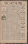 The Evening Item, July 2, 1890 by Orville Wright and Wilbur Wright