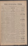 The Evening Item, July 3, 1890 by Orville Wright and Wilbur Wright