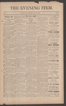 The Evening Item, July 9, 1890 by Orville Wright and Wilbur Wright