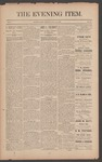 The Evening Item, July 14, 1890 by Orville Wright and Wilbur Wright