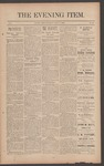 The Evening Item, July 17, 1890 by Orville Wright and Wilbur Wright