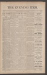 The Evening Item, July 21, 1890 by Orville Wright and Wilbur Wright