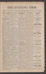 The Evening Item, July 22, 1890 by Orville Wright and Wilbur Wright