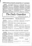 The Guardian, October 25, 1979 by Wright State University Student Body