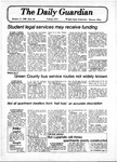 The Guardian, January 11, 1980 by Wright State University Student Body