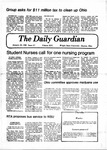 The Guardian, January 30, 1980 by Wright State University Student Body