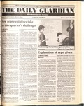 The Guardian, April 18, 1989 by Wright State University Student Body