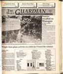 The Guardian, October 3, 1989 by Wright State University Student Body