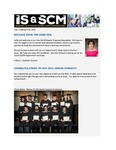 ISSCM Newsletter, Volume 1, February 10, 2015 by Raj Soin College of Business, Wright State University