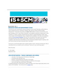 ISSCM Newsletter, Volume 11, March 23, 2016 by Raj Soin College of Business, Wright State University