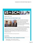 ISSCM Newsletter, Volume 20, September 22, 2017 by Raj Soin College of Business, Wright State University