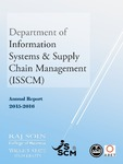 Department of Information Systems & Supply Chain Management Annual Report, 2015-2016 by Raj Soin College of Business, Wright State University