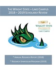 The Wright State – Lake Campus 2018 – 2019 Scholarly Review by Wright State University - Lake Campus