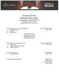 Graduate Recital: Bethany Rose, violin, 2019-11-02 by Bethany Rose