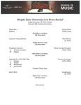 Low Brass Recital - 2019-11-22