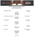 Percussion Ensemble - 2019-11-18