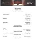 Phi Mu Alpha Fall Recital - 2019-10-31 by Phi Mu Alpha, Theta Eta Chapter