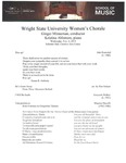 Women's Chorale - 2019-11-06 by Ginger Minneman and Wright State University Women's Chorale