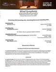 Wind Symphony - 2019-10-09 by Shelley M. Jagow and Wright State University Wind Symphony
