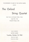 School of Music Recital Programs from 1965-1966 by Wright State University School of Music