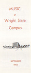 School of Music Recital Programs from 1966-1967 by Wright State University School of Music