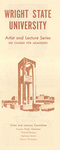School of Music Recital Programs from 1967-1968 by Wright State University School of Music