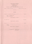School of Music Recital Programs from 1969-1970 by Wright State University School of Music