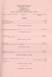School of Music Recital Programs from 1971-1972
