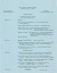 Ohio Academy of Medical History Annual Meeting, Saturday, April 12, 1969 Cincinnati Historical Society, Cincinnati, Ohio