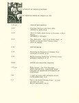 Ohio Academy of Medical History Annual Meeting Program, March 28, 1992