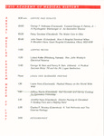 Ohio Academy of Medical History Annual Meeting Program, March 22, 1997