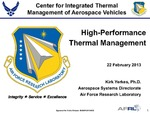 High-Performance Thermal Management
