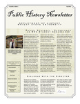 Public History Newsletter Fall 2008 by Public History Concentration