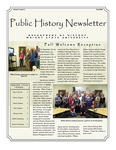 Public History Newsletter Fall 2009 by Public History Concentration