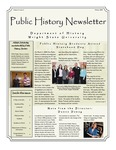 Public History Newsletter Winter 2009 by Public History Concentration
