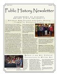 Public History Newsletter Spring 2010 by Public History Concentration