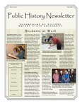 Public History Newsletter Winter 2010 by Public History Concentration