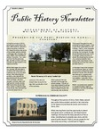 Public History Newsletter Fall 2011 by Public History Concentration