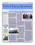 Public History Newsletter Winter 2011 by Public History Concentration