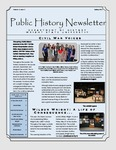 Public History Newsletter Spring 2012 by Public History Concentration