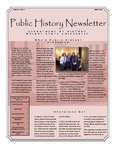 Public History Newsletter Winter 2012 by Public History Concentration