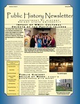 Public History Newsletter Spring 2013 by Public History Concentration